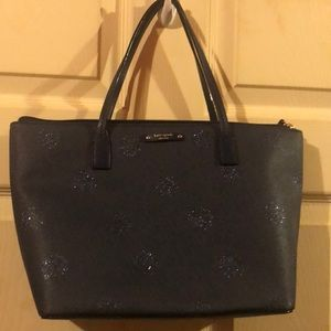 New without tags Navy blue kate spade bag